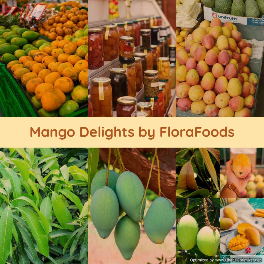 Mango Delights by FloraFoods