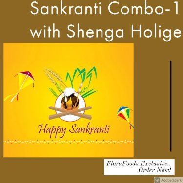 Sankranti Combo with Shenga Holige