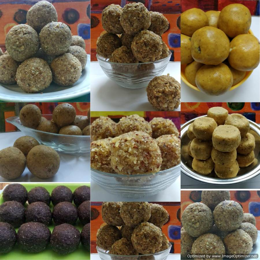 Laddu Varieties on FloraFoods