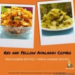Delicious Evening Snacks Combo of Red Avalakki and Yellow Avalakki