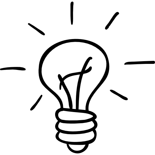 light-bulb-outlined-hand-drawn-tool